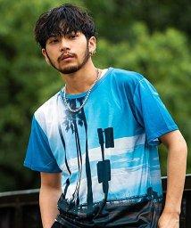 Blue Wax/BlueWax【ブルーワックス】Tree of seaside palm クルーネックTEE(Tシャツ)/500876610