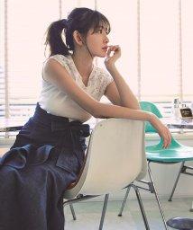 Rirandture/フレンチ袖口刺繍ニット/500876869