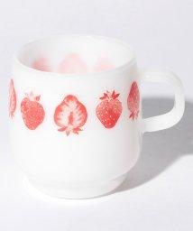 Afternoon Tea LIVING/イチゴ柄耐熱ミルクマグカップ/500743106