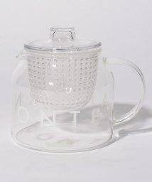 Afternoon Tea LIVING/ロゴ柄耐熱ガラスティーポット/500860044