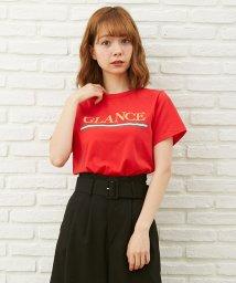 INGNI/カラーラインロゴ半袖/Tシャツ/500864511