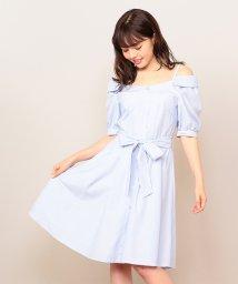 MIIA/ぬき襟シャツワンピース/500877027