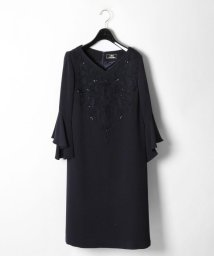 GRACE CONTINENTAL/フレア袖刺繍ワンピース/500879463