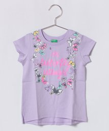 BENETTON (UNITED COLORS OF BENETTON GIRLS)/KIDSフラワープリントTシャツ・カットソー/500848658