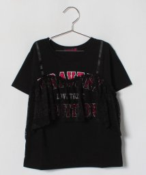 Lovetoxic/ビスチェ風デザインTシャツ/500854655