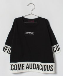 Lovetoxic/ロゴ入りビッグシルエットTシャツ/500854668
