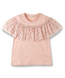 branshes/デイジー柄フリル付き半袖Tシャツ/500869346