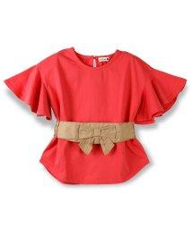 branshes/ベルト付き半袖Tシャツ/500869347