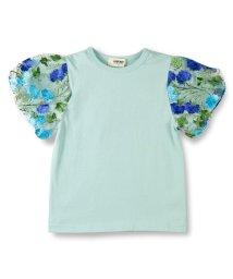 RADCHAP/刺繍レーススリーブTシャツ/500869366