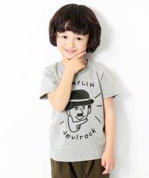 devirock/わかるさんコラボ プリント半袖Tシャツ カットソー/500878217