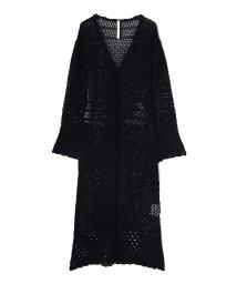 PROPORTION BODY DRESSING/《EDIT COLOGNE》かぎ針風デザインニットカーディガン/500879669