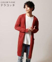 THE CASUAL/(バイヤーズセレクト)Buyer's Select コットンニット長袖ロングカーディガン/500880636