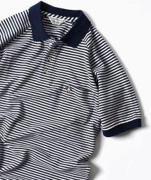 SHIPS MEN/【Begin5月号掲載】MUNSINGWEAR: 別注 MADE IN USA 60'S 復刻 ライン ポロシャツ/500881237