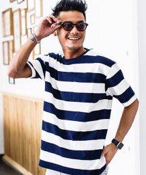 CavariA/CavariA【キャバリア】USAコットンビックシルエットクルーネック半袖無地Tシャツ/500881296