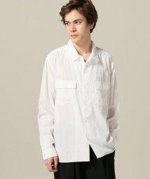 417 EDIFICE/M.A / マニュアルアルファベットSPECIAL オープンカラーシャツ/500882201