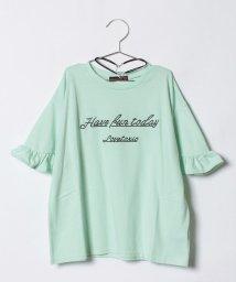Lovetoxic/チョーカーつき袖フリルTシャツ/500854653