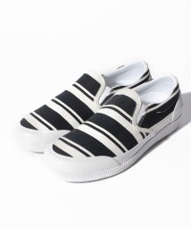 HUNTER/ORG GARDEN STRIPE PLIMSOLL/500865951