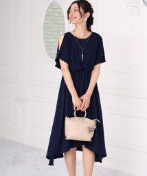 Bou Jeloud/ネックレス付きパール釦ドレス/500868577