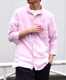 SHIPS MEN/SU: 【COOL MAX】リネンシャツ ワイヤー 7スリーブ/500882368