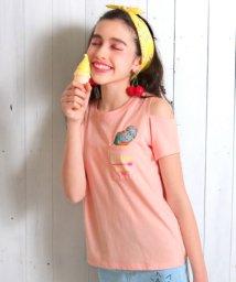 ANAP GiRL/肩アキポケットアイスクリームTシャツ/500875757
