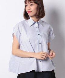 LANVIN en Bleu/ストライプシャツ/LB0004928