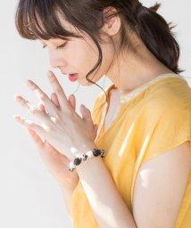 coen/【CM着用アイテム】ビーズボールゴムブレス/500868212