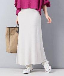 Spick & Span/【MIJEONG PARK】ホールガーメントマキシスカート/500883691