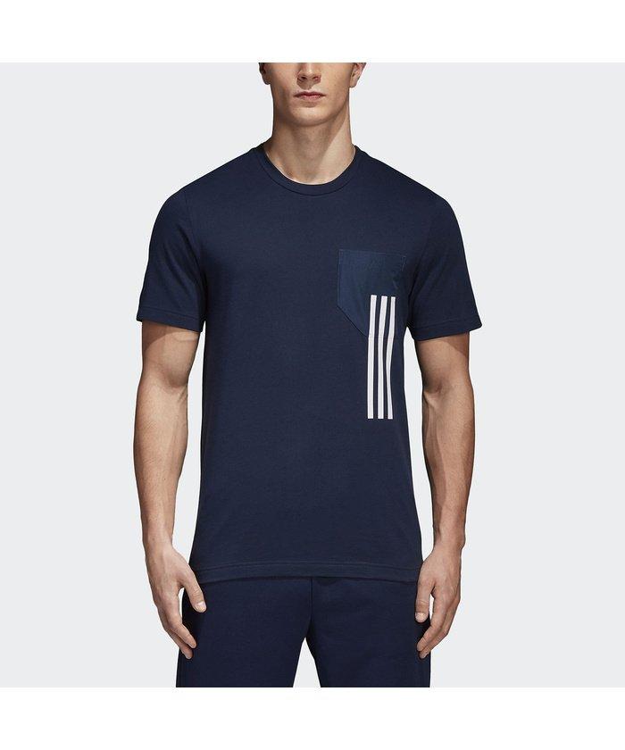 アディダス/メンズ/M SPORT ID ポケット Tシャツ