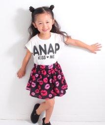 ANAP KIDS/リップ柄ドッキングワンピース/500878165