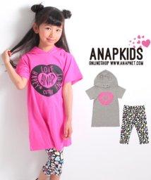 ANAP KIDS/ねこ耳ワンピース+レギンス SET/500878166
