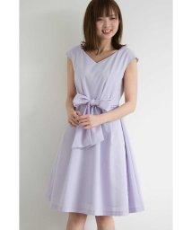 PROPORTION BODY DRESSING/【CanCam  6月号掲載】カラーシャンブレーリボンワンピース/500882664