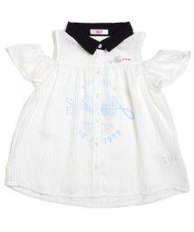 ALGY/肩あきシースルーシャツ/500883180
