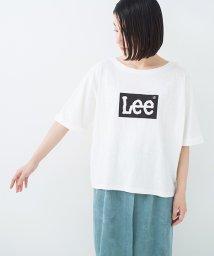 haco!/【mer8月号掲載】別注 LeeゆるシルエットのロゴTシャツ/500884410
