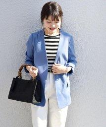 SHIPS WOMEN/【TVドラマ着用】リネンレーヨン羽織りジャケット/500885961