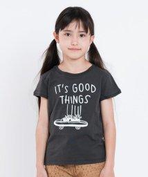 SHIPS KIDS/SHIPS KIDS:スケート プリント オーガニックコットン TEE(100~130cm)/500885994