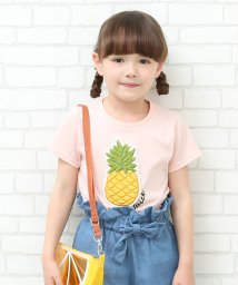 ROPE' PICNIC KIDS/【ROPE' PICNIC KIDS】パイナップルTシャツ/500886510