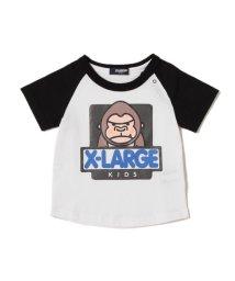 XLARGE KIDS/【予約】ファニーゴリララグランTシャツ/500887126
