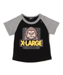 XLARGE KIDS/ファニーゴリララグランTシャツ/500887126