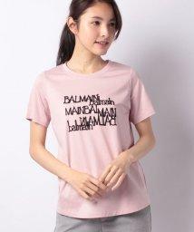 Leilian/【BALMAIN】コード刺繍Tシャツ/500838551
