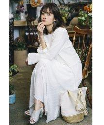 Avan Lily/【セットアップ対応商品】ドットシフォンロングスカート/500879077