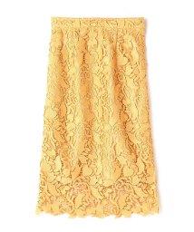 PROPORTION BODY DRESSING/リーフハートケミカルロングスカート/500888829