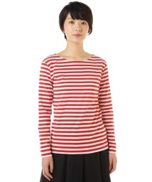MARGARET HOWELL/EVEN STRIPE COTTON JERSEY/500888855