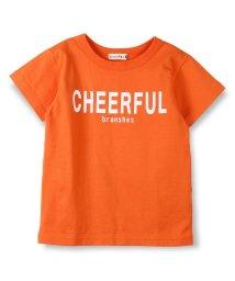 branshes/シリコンロゴプリント半袖Tシャツ/500855583