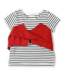 branshes/ビスチェ重ね着風半袖Tシャツ/500855591