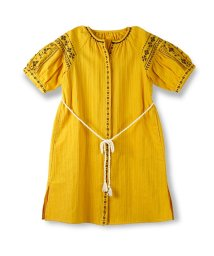 branshes/刺繍デザインガウンワンピース/500855617