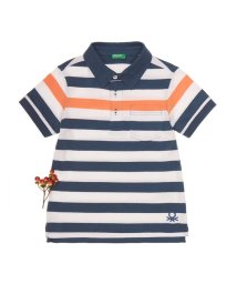 BENETTON (UNITED COLORS OF BENETTON BOYS)/KIDSボーダー柄ポロシャツ/500868752