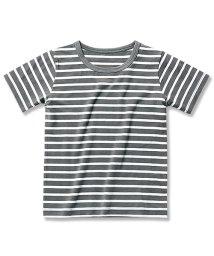 devirock/先染めボーダー半袖Tシャツ カットソー/500878203