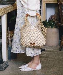 Avan Lily/マクラメ編み巾着付きバッグ/500879088