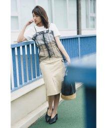 Avan Lily/ハイウエストチノスカート/500879096