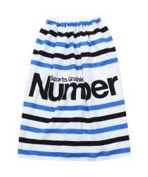 Number/ナンバー/キッズ/80㎝マイクロファイバー巻きタオル/500889652